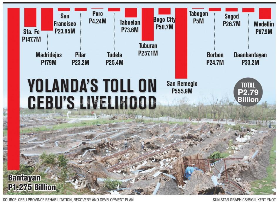 Yolanda toll on Cebu livelihood-X2